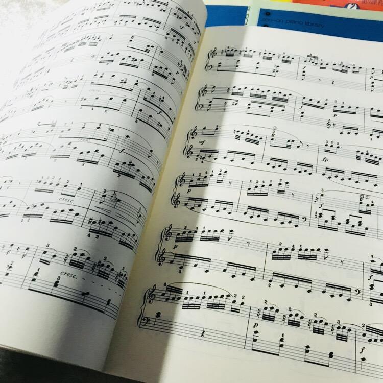 楽譜 クラシック zen-on piano library 1_画像2