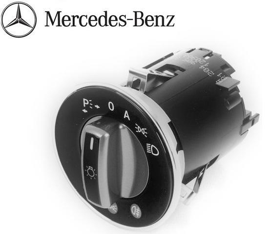 Genuine Mercedes W204 C300 C350 C63 AMG X204 GLK Headlight Switch NEW 2049053304