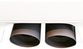 【M's】ミニ R55 R56/KaizerTail マフラーカッター(ブラック)_画像2