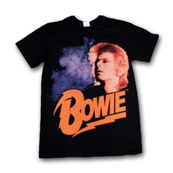 David Bowie Tシャツ デヴィッドボウイ Orange Hair S