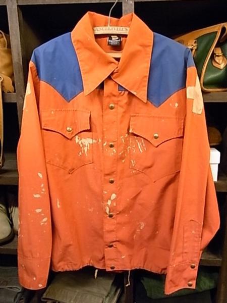 70'S ロッキーマウンテン ゴアテックス ジャケット SIZE 40 赤紺