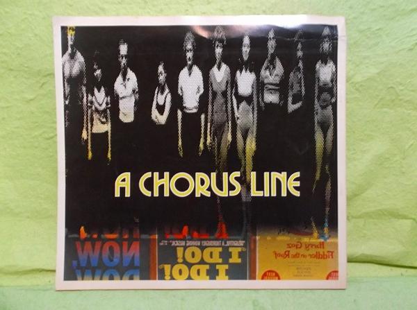 C-パンフ 劇団四季 コーラスライン 1981
