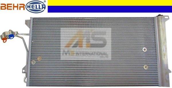 【M's】VW トゥアレグ(03y-10y)BEHR製 エアコン コンデンサー_画像1