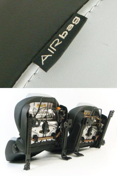 フィアット アバルト500 純正 シート フロント 左右 2脚セット_画像10