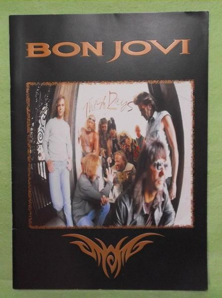 N- ボンジョヴィ 1995 These Days ワールドツアーパンフレット