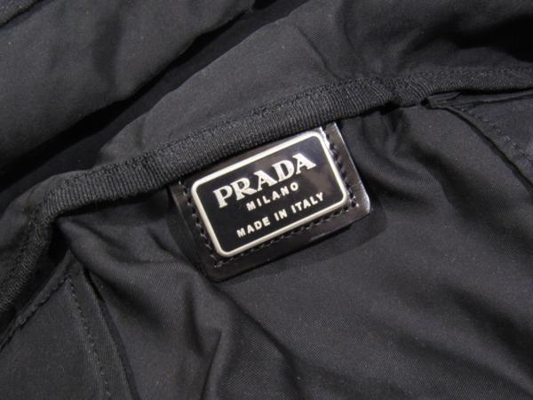 プラダ PRADA 大型 2WAY ショルダー付 ボストン ナイロン バッグ 鍵付 旅行 出張 に_画像7