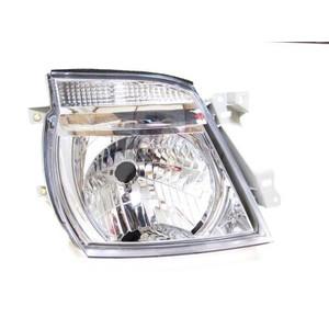 E25系 キャラバン タイプ クリスタルヘッドライト 左右セット!_画像3
