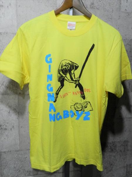 即決 サイン入り 銀杏BOYZ Tシャツ M 銀杏ボーイズ