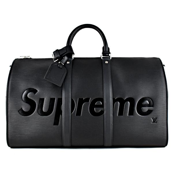 新品未使用 Louis Vuitton/Supreme Keepall 45 ルイヴィトン/シュプリーム エピ キーポル