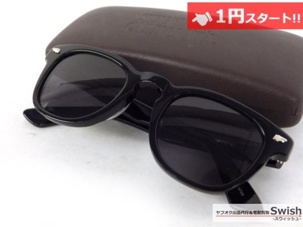 A809●STANDARDCALIFORNIA スタンダードカリフォルニア × 金子眼鏡●Glasses Type4 サングラス メガネ 眼鏡 黒●