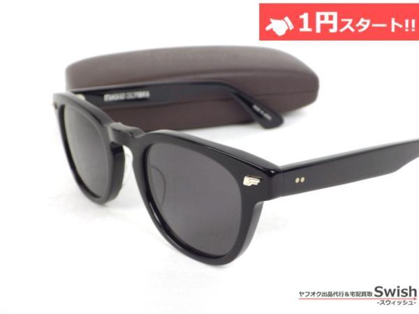 A809●STANDARDCALIFORNIA スタンダードカリフォルニア × 金子眼鏡●Glasses Type4 サングラス メガネ 眼鏡 黒●_画像2