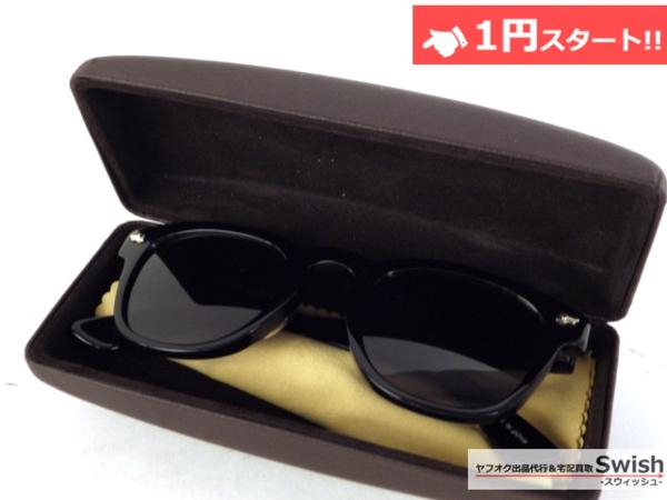 A809●STANDARDCALIFORNIA スタンダードカリフォルニア × 金子眼鏡●Glasses Type4 サングラス メガネ 眼鏡 黒●_画像5