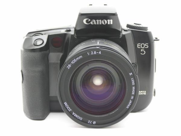 ★ハロ-カメラ★5792 Canon EOS 5(SIGMA AF 28-105mm F2.8-4)多少の難有り動作品