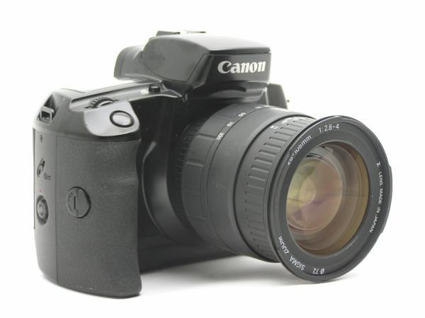 ★ハロ-カメラ★5792 Canon EOS 5(SIGMA AF 28-105mm F2.8-4)多少の難有り動作品_画像2