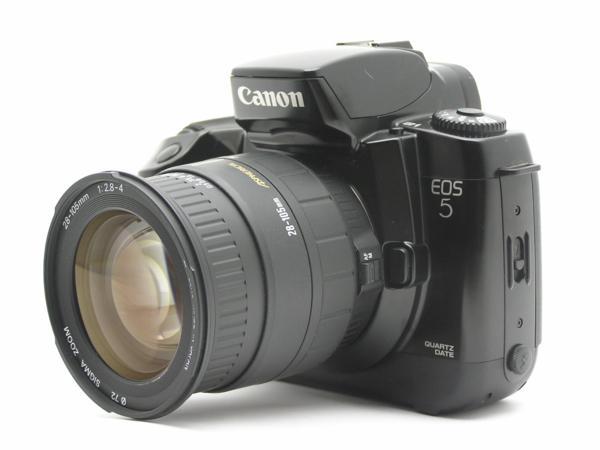 ★ハロ-カメラ★5792 Canon EOS 5(SIGMA AF 28-105mm F2.8-4)多少の難有り動作品_画像3