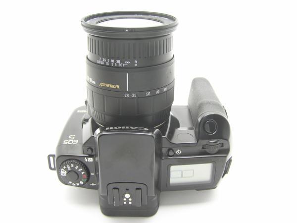 ★ハロ-カメラ★5792 Canon EOS 5(SIGMA AF 28-105mm F2.8-4)多少の難有り動作品_画像6