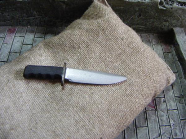 ■ 1/6 スケール GIジョークールガール US COMBAT コンバット サバイバル ナイフ 新品未使用品!_画像7