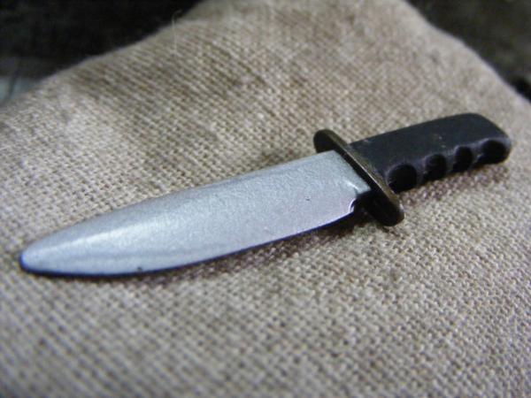 ■ 1/6 スケール GIジョークールガール US COMBAT コンバット サバイバル ナイフ 新品未使用品!_画像6