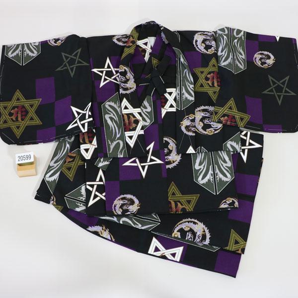 一つ身 二部式羽織着物セット 男児 ベビー用 新品 (株)安田屋_画像1