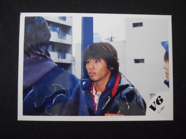 V6 三宅健 ジャニーズ 公式写真 V6ロゴ レア