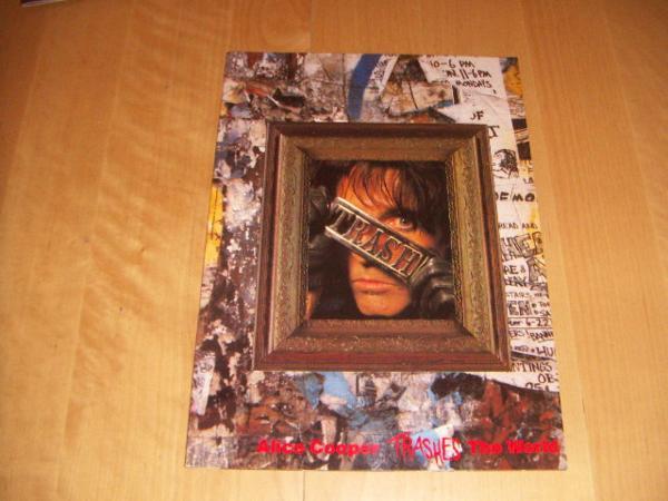 ●即決!ツアー パンフ:ALICE COOPER アリス・クーパー1989