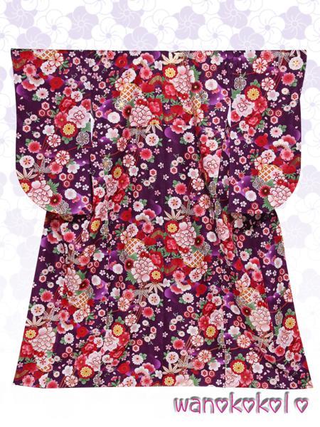 【和のこころキッズ】二尺袖着物・袴セット◇小学校卒業式◇1_画像3