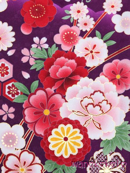 【和のこころキッズ】二尺袖着物・袴セット◇小学校卒業式◇1_画像2