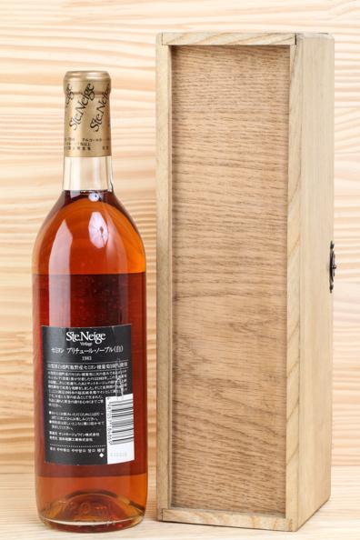 神奈川県民限定販売 Ste Neige SEMILLON Pourriture Noble サント ネージュ セミヨン 1983年 白ワイン 木箱入り #963_画像2