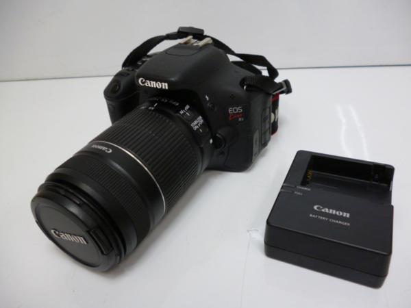 e400 キャノン EOS Kiss X5 EF-S55-250mm F4-5.6 IS付 ジャンク