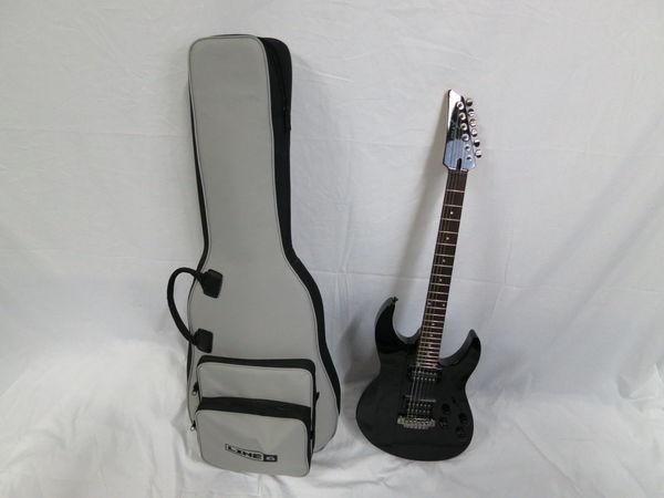 【1円】VARIAX Line6 エレキギター JTV-89F James Tyler ブラック