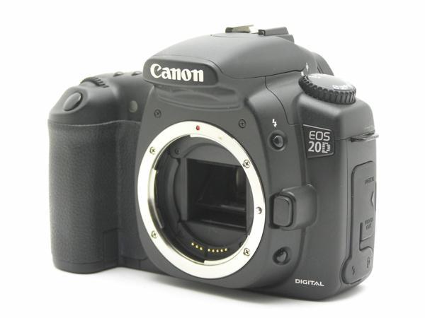 ★ハロ-カメラ★5690 Canon EOS 20D ボディ(有効 約820万画素/CF) 動作品_画像2