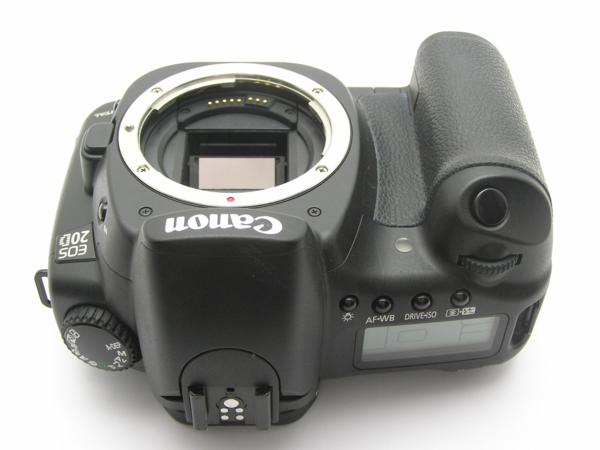★ハロ-カメラ★5690 Canon EOS 20D ボディ(有効 約820万画素/CF) 動作品_画像6