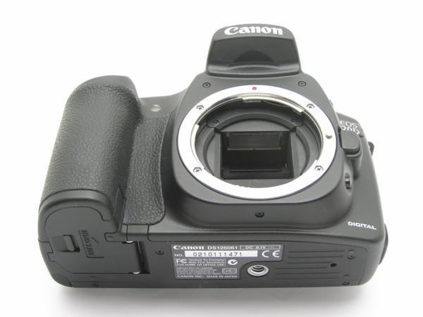★ハロ-カメラ★5690 Canon EOS 20D ボディ(有効 約820万画素/CF) 動作品_画像7