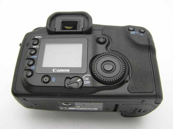 ★ハロ-カメラ★5690 Canon EOS 20D ボディ(有効 約820万画素/CF) 動作品_画像5