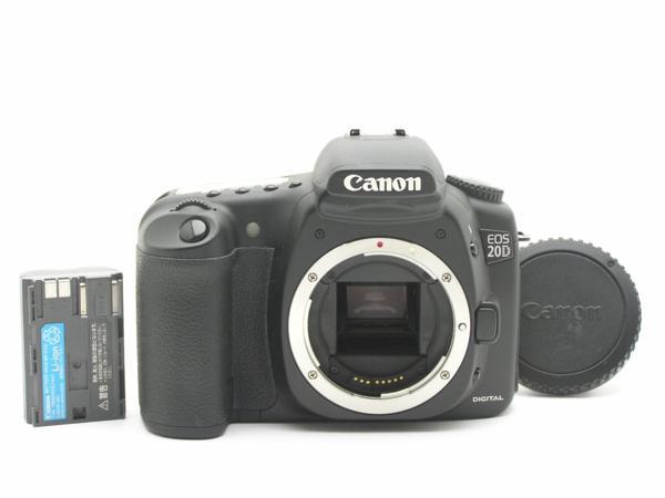 ★ハロ-カメラ★5690 Canon EOS 20D ボディ(有効 約820万画素/CF) 動作品