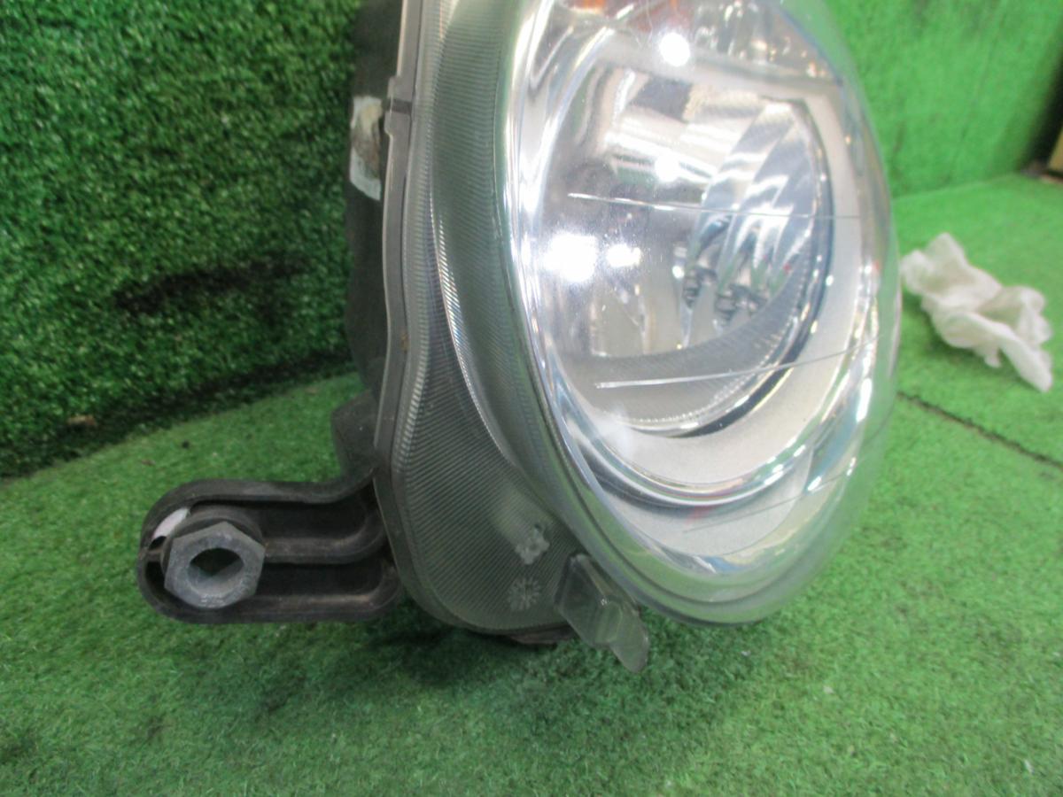 S管理50522 H23 FIAT フィアット 500 ツインエアポップ ABA-31209 左ヘッドライト _画像7