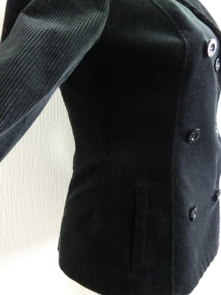 kby114 【美品】 CDEC コーデュロイジャケット 黒 40_画像4