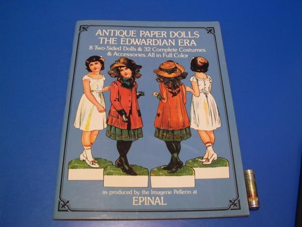 1975年 ANTIQUE PAPER DOLLS THE EWARDIAN ERA_画像1