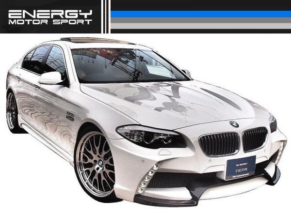 【M's】BMW F10/F11 5シリーズ ENERGY 左右 4本出し マフラー_画像10