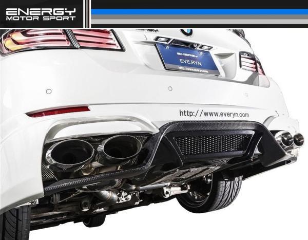 【M's】BMW F10/F11 5シリーズ ENERGY 左右 4本出し マフラー_画像2