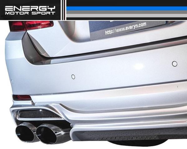 【M's】 BMW F10 エアロ 4点set FRP+カーボン ENERGY EVO 10.2_画像9