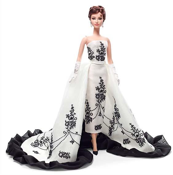 バービー オードリー・ヘップバーン 「麗しのサブリナ」/ Barbie Collector Audrey Hepburn Sabrina Doll(輸入品)_画像1