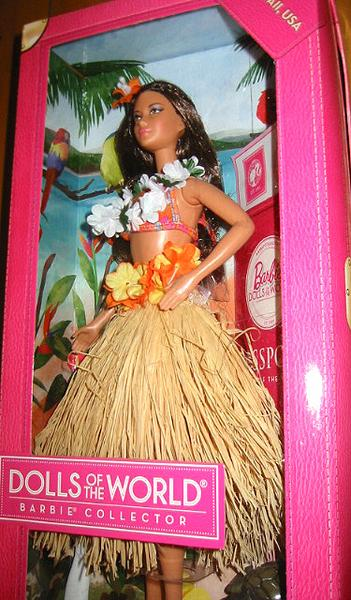 バービー コレクター ドール ハワイ/ The World Hawaii / Barbie Collector Dolls of The World Hawaii, USA Doll(輸入品)_画像3