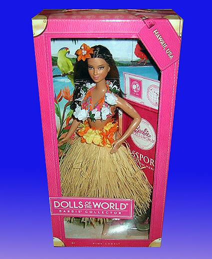 バービー コレクター ドール ハワイ/ The World Hawaii / Barbie Collector Dolls of The World Hawaii, USA Doll(輸入品)_画像2