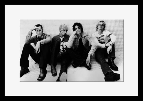BW:人気ロックバンド!ストーン・テンプル・パイロッツ/Stone Temple Pilots/STP/モノクロ写真フレーム-2