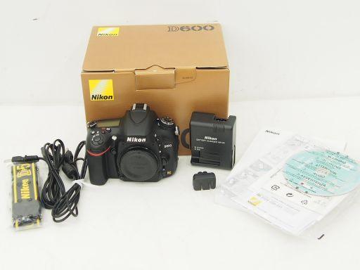 Nikon デジタル一眼レフカメラ D600 ニコン ▽ 4E32A-1
