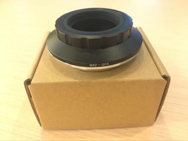 Breguetcamera M42 レンズーFujifilm GFX 50S M42-GFX adapter アダプター