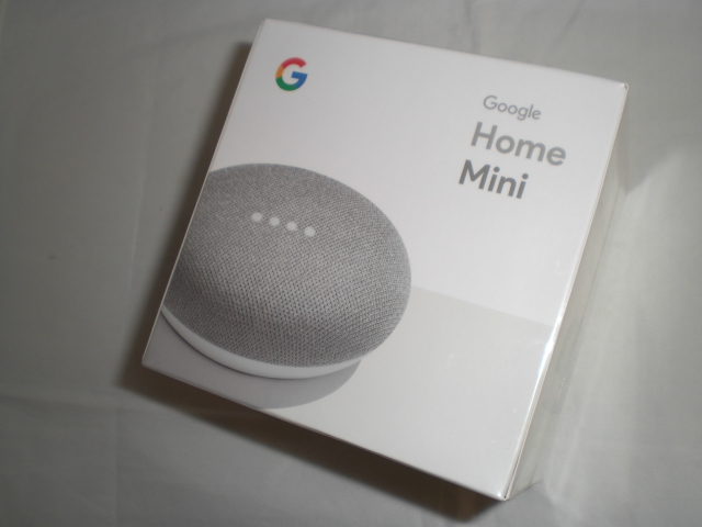 新品☆Google Home Miniチョーク☆GA00210-JP_画像1