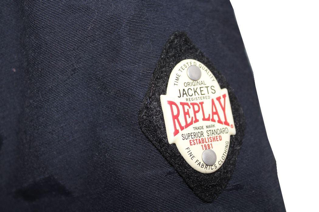 リプレイ REPLAY メンズジャケット アウター ダッフル ネイビー Sサイズ 新品_画像3