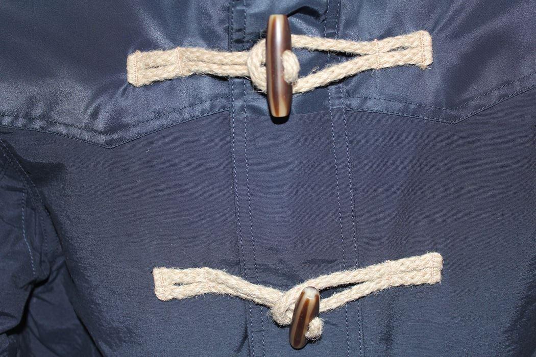 リプレイ REPLAY メンズジャケット アウター ダッフル ネイビー Sサイズ 新品_画像4